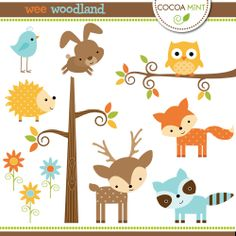 Wee Woodland-Cocoa Mint-LOVE!