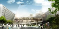 BIG + OFF win the competition to design the Research Centre of the University of Jussieu