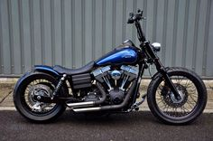Custom Harley Davidson Street Bob - The Fantastic Mr Fox gallery including pictures, technical specifications and press features. Harley Davidson Dyna, Harley Dyna, Harley Bobber, Harley Bikes, Harley Davidson Street Glide, Harley Davidson Motorcycles, Bobber Bikes, Bobber Motorcycle, Girl Motorcycle