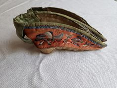Antique Chinese Qing Dynasty Lotus shoes