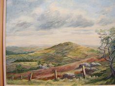 Kieth Elvin Dartmoor oil painting