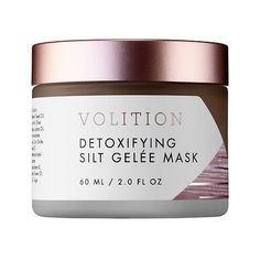 """VOLITION BEAUTY Detoxifying Silt Gelee Mask: """"This mask is so awesome!! The texture is so creamy and easy to apply and layer. It dries to an awesome finish that scrubs right off, leaving you with glowing super fresh feeling skin! My blackheads and pores have decreased DRAMATICALLY!"""" -Mas1mama"""