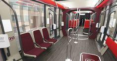 Métropole NCA |Le design des rames de la ligne Ouest-Est dévoilé