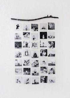 Decorar las paredes con fotos