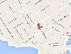 Apartamentos Estanques location map