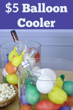 Make a $5 Balloon Cooler for Your Next Summer Party