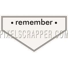 Ride A Bike Word Bits - Recuerde Tag