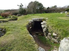 Carn Euny Ancient Village in Sancreed, Cornwall