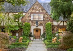 #DOOR   |  tudor style brick | mixed materials outside    |   10 Ways to Bring Tudor Architectural Details to your Home