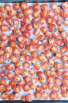 Domowe suszone pomidory koktajlowe » Jadłonomia · wegańskie przepisy nie tylko dla wegan Bon Appetit, A Food, Gluten Free, Diet, Fruit, Polish, Canning, Alcohol, Glutenfree
