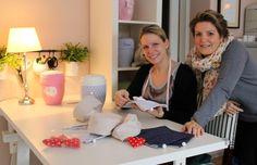 Elisabeth Grosser und Frauke Homann haben ein Atelier für zugewandte, achtsame und warme Trauerkultur gegründet. Das Atelier von Herzen. Bei uns mehr dazu.