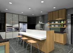 Kitchen design by Coco Interior Design