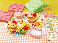 Rakuten HELLO KITTY waffle shop (Hello Kitty) wheat clay: Children Club & Toys Club