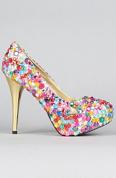 diy sparkleeee shoes