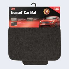 3M Nomad car mats are effective in trapping dirt and great at hiding unsightly soil and dirt so they won't be seen on the surface.