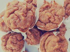 Sweet Potato & Ginger Muffins