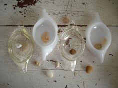 Vintage Glasbake Crab Imperial Ramekins Set of by SweetPeaRomance