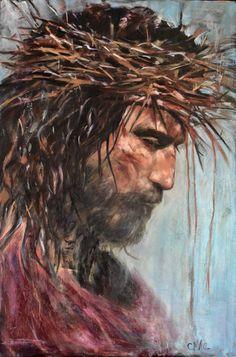 """Servant King"" by Australian Artist Cindy MacDonald Catholic Art, Religious Art, Passion Of Christ Images, Images Of Christ, Jesus Drawings, Jesus Christ Drawing, Crucifixion Of Jesus, Jesus Artwork, Pictures Of Jesus Christ"