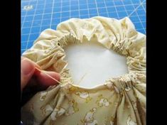 DIY with Andrea Baker - Gathered Pillow Tutorial - YouTube