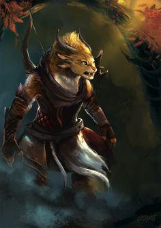 Charr Ranger by KatRoart on deviantART