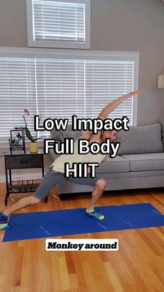 Hitt Workout, Gym Workout Tips, At Home Workout Plan, Easy Workouts, Workout Videos, At Home Workouts, Wellness Fitness, Physical Fitness, Fitness Goals