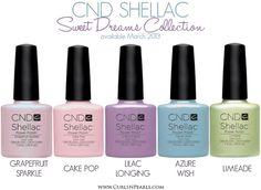 We have the newest Shellac colors for Spring! Sold out and very exclusive but don't fear... Wild Side Spa is always the first to bring you new products before the rest!