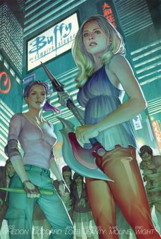 Buffy the Vampire Slayer Season 8 Library Edition Vol. 2 cover •Jo Chen
