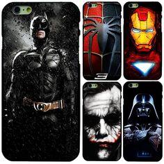 Batman Superman Spiderman Iron Man Marvel Hero Minion Case Cover For iPhone 6 6S #UnbrandedGeneric