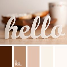 Color of chocolate, coffee and cocoa with milk well with creamy-pink shades. Such a scheme - a classical solution for a spacious, bright, cozy, a bit conservative kitchen with large dining table, tea table, comfortable sofas and chairs, a floor lamp, a collection of mugs, spices, drinks.
