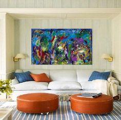 'THREE ARCS' - Acrylic on Canvas