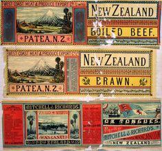 A D Willis (Wanganui) :[Three labels - West Coast Meat & Produce Export Co Ltd (Patea).