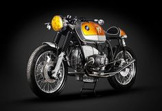 BMW R100RS by Cytech,   Somewhere along the way BMW Motorrad missed an opportunity. An opportunity to build a real factory café racer.A bike which would make the heart race faster. To continue the tradition that was born in the R90S, that of BMW saying 'hey guys, look, we can build exciting bikes'. Don't get me wrong, the R100RS of the mid seventies was a nice bike for its time. But it...