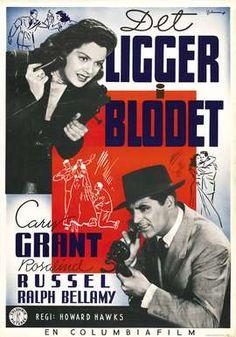 """His Girl Friday"", screwball comedy film by Howard Hawks (USA, 1939)"