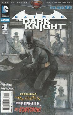 Batman: The Dark Knight Annual # 1 DC Comics The New 52!