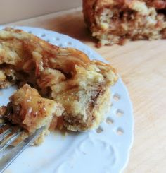 Apple Pie Cinnamon Roll Pull Apart Bread