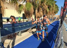 Second @Bioiberica's team arrived. Congrats colleagues! TunaRaceBalfegó #Triathlon (Ametlla del Mar, Tarragona, Sunday 20th September) #HawaiiChallenge