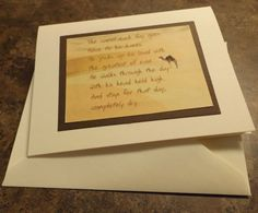 12 STEP Camel phrase recovery greeting card. by 12StepUnityGal