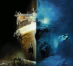 Titanic then and now