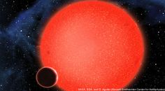 Hubble Finds a steam planet! Twice the size of Earth, with more water and closer to its own sun. Sweet!