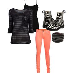 Love this outfit, colored skinny jeans and zebra doc's! created by on True Religion Work Outfits, Summer Outfits, Cute Outfits, Zebra Shoes, Coral Jeans, Colored Skinny Jeans, Current Fashion Trends, Design Inspiration, Design Ideas