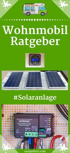 In diesem Wohnmobil Ratgeber geht es um die Solaranlage.  Wie viel Watt brauche ich und wie sieht es mit dem Solarladeregler aus? Wir erklären dir von Anfang an, wie du Strom im Wohnmobil autark durch deine Solaranlage bekommst.  Mit Bedarfsrechner für deine Verbraucher. So bist du garantiert autark unterwegs. #wohnmobil #solaranlage #autark #ratgeber #camping