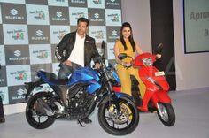 Salman Khan, Parineeti Chopra launch Suzuki two-wheelers | PINKVILLA
