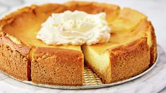 Lemon Cheesecake---crust made from lemon cake mix. My Grandma used to make this. Lemon Cheesecake Recipes, Cake Mix Recipes, Lemon Desserts, Lemon Recipes, Easy Desserts, Dessert Recipes, Cheesecake Crust, Apple Cheesecake, Spring Desserts
