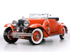 1932 Stutz Model SV-16 Convertible Coupe by Derham