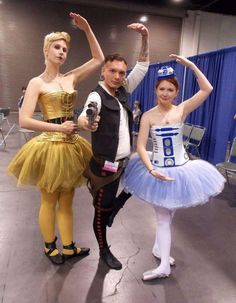 starwars running costume | 26 Fantastic Examples of Star Wars Cosplay