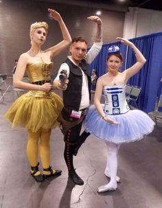 starwars running costume | 26 Fantastic Examples of Star Wars Cosplay