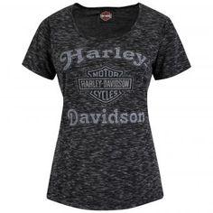 New Harley-Davidson shirt (Ladies) with Thunderbike print.