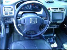 Interior of a 2000 Honda CIvic