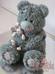 in tatty teddy bear cake in album