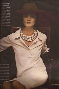 Vogue September 1963-LARRY ALDRICH dress